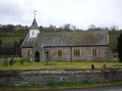 St Michaels Church, Manafon